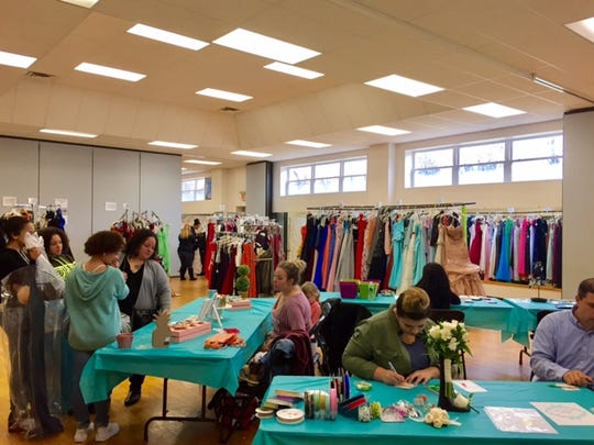 The Cumberland County Prom Shop was buzzing with teen girls making their prom dress picks on Sunday.