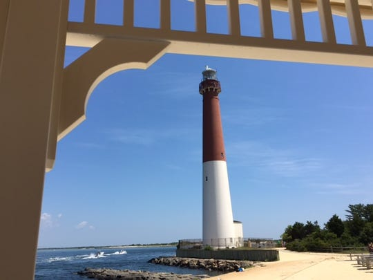 Barnegat Light stands at the Northern tip of  Long