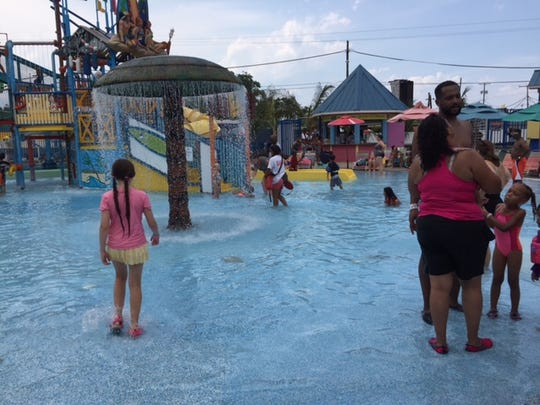Cool off at Keansburg Amusement Park's Runaway Rapids.