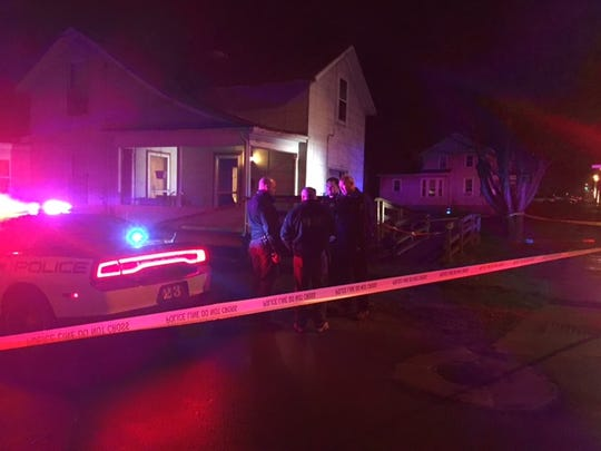 A man sitting in his kitchen was shot in the face by suspects who fired into the window at  271 S. Main St. Friday night. The victim is expected to be OK, Mansfield police said.