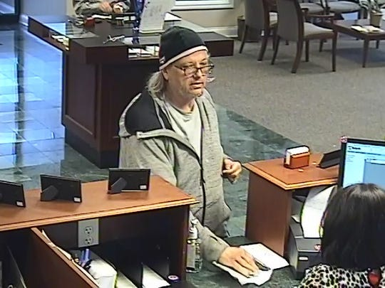 Fifty-two-year-old Douglas M. Armel, Jr. was arrested Saturday as the suspect in connection with the April 4 robbery of the US Bank branch on Kingston Pike in Knoxville.