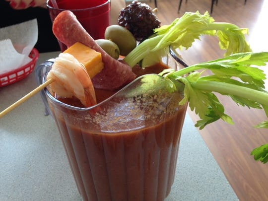 The SandHill in Marshall features a Bloody Mary bar