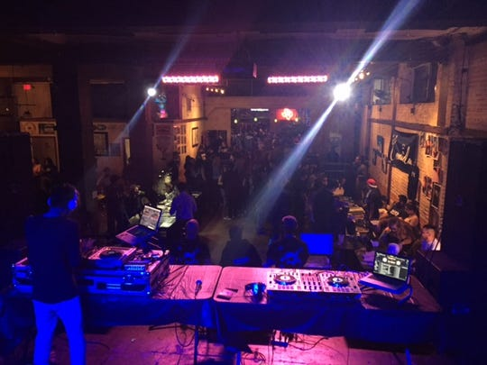 The first Comida art show was in August 2016 at House of Rock.