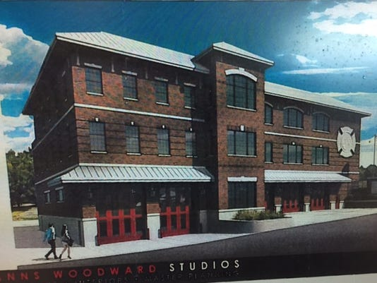 Rendering of proposed TR firehouse