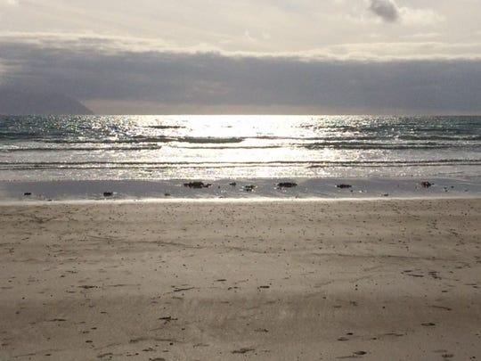 A beach near Ballyheigue, Republic of Ireland.