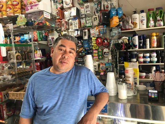 Fidel Clara, who, with his wife, owns a grocery store on Market Street in Passaic, decided to stay open on Monday and not participate in the events, saying most businesses in the city also stayed open.