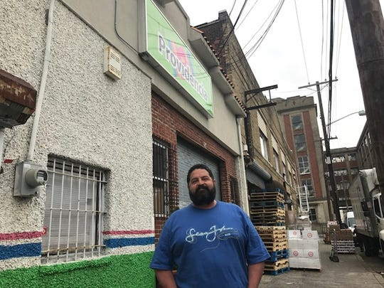 "Alvaro Enriquez, manager at Providencia, a business that sells Mexican goods, explains why the business chose to close on Monday for the ""Day Without Immigrants"" events, to show clients that it is pro-immigrant."