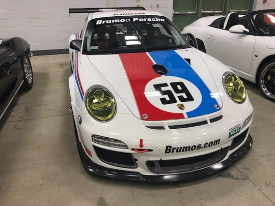 This is a straight up race car, and one of the last five U.S.-specification GT3 Cup cars built by Porsche in 2012.