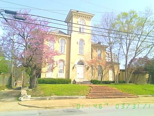 The East Ivy Mansion at 209 S. 5th St. was built in 1867, according to its new owner.