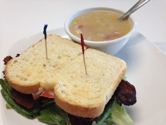 Enquirer's Bill's Bites visits the Dandelion Cafe for house-made soup and sandwich