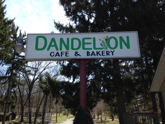 The Dandelion Cafe & Bakery in Gull Lake area