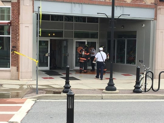 The Arlington Fire District was dispatched to the bookstore on Raymond Avenue in the Town of Poughkeepsie at 9:41 a.m. Tuesday for a reported gas leak.