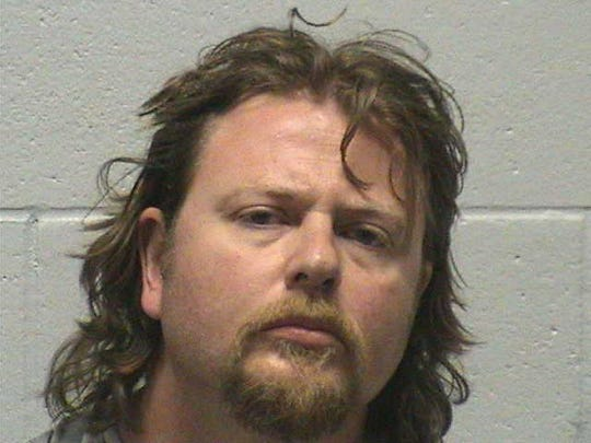 Brian Brandt, 40, was booked into the Yerington Detention
