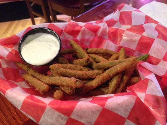 The Player's Grill in Augusta features Deep Fried Green
