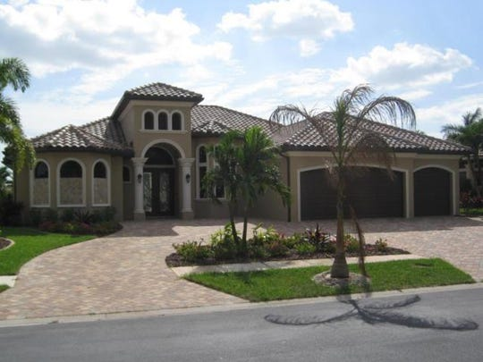This home at 1808 Harbour Circle, Cape Coral, sold