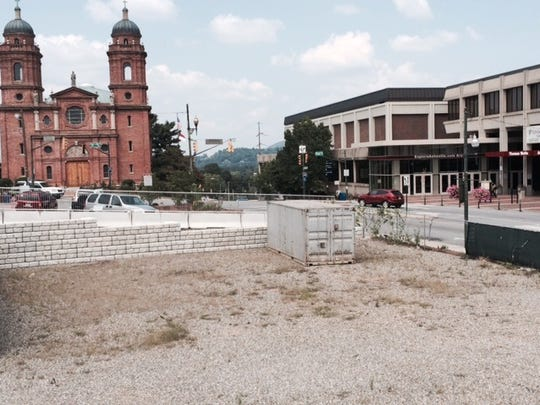 """The infamous """"Pit of Despair"""" in downtown Asheville"""