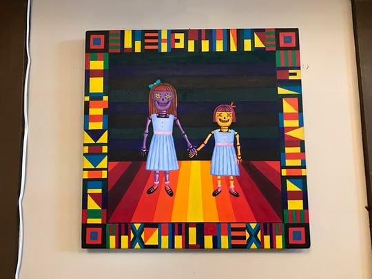 "Mayra Zamora's exhibit ""Chicana Por Vida"" is on display"