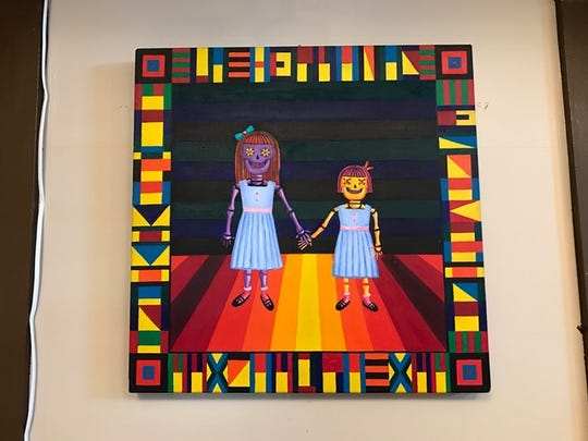"Mayra Zamora's exhibit ""Chicana Por Vida"" is on display at the Tejano Civil Rights Museum through July 1."