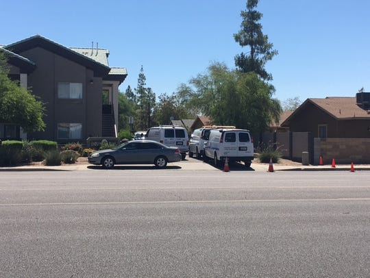 Mesa police are investigating the death of a woman