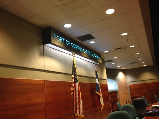 The Port of Corpus Christi commission holds its regular