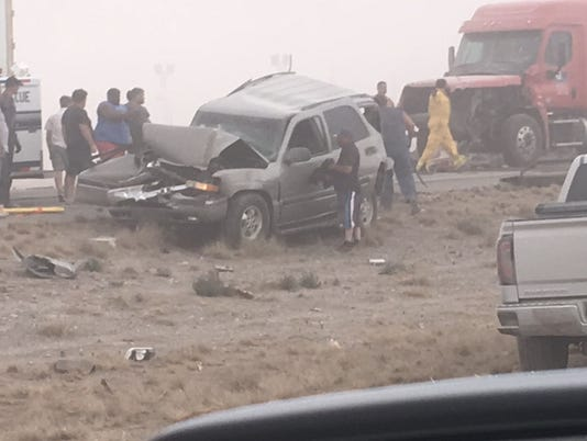 Fatal multi-car pileup