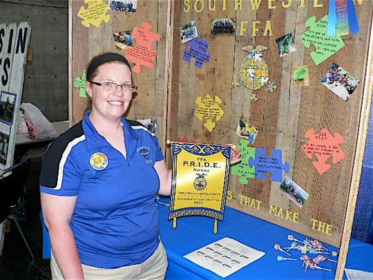 In her three years at Southwestern High, FFA Advisor Katy Lynn Heisz is building a solid beginning.