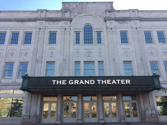 The Grand Theater in downtown Wausau.