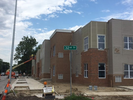 New apartments under construction this summer by the