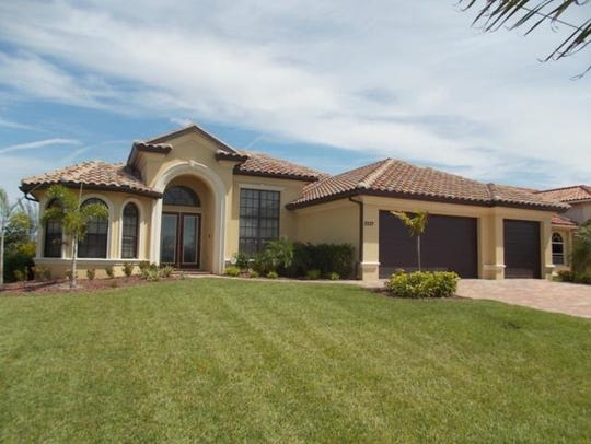 This home at, 2537 SW 38th St., Cape Coral, sold for