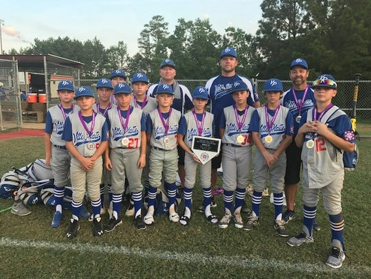 The Ville Platte Dixie Youth majors finished as the