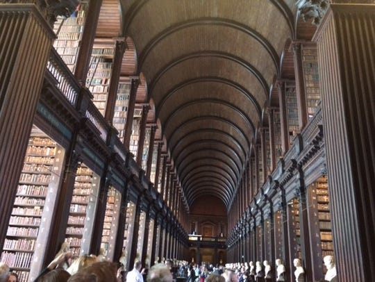 Trinity College's Long Room.