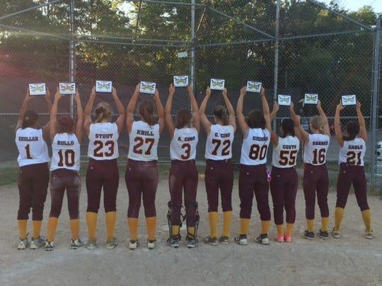 Berkeley Blaze players: Ava Cino (3), Gaetiana Cino (72), Hannah Costa (55), Brittany Gable (21), Cassidy Krill (27), Alexis Hansson (30), Riya Khullar (1), Samantha Rullo (10), Karleigh Stout (23), Erica Scheinberg (80), Bethany Suarez (16).