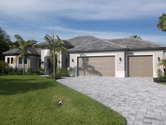 This home at 4818 Agualinda Blvd., Cape Coral, recently