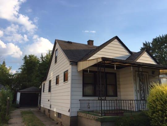 The house on Hudson in Warren where Macomb County Clerk