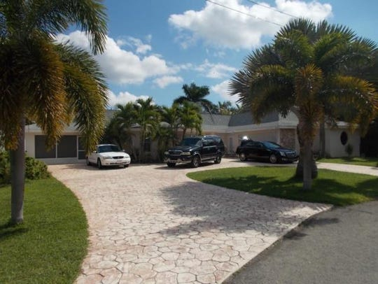 This home at 107 El Dorado Parkway West, Cape COral,