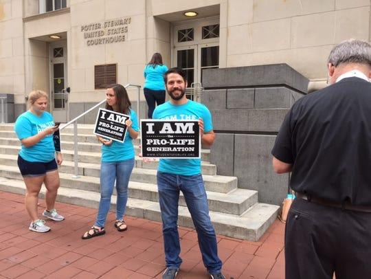 Anti-abortion protester. (File)