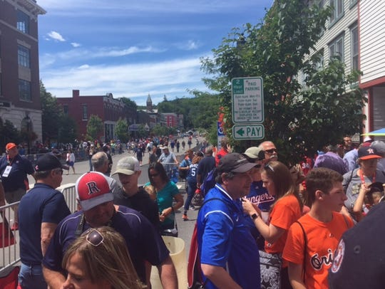 A look at Main Street in downtown Cooperstown just