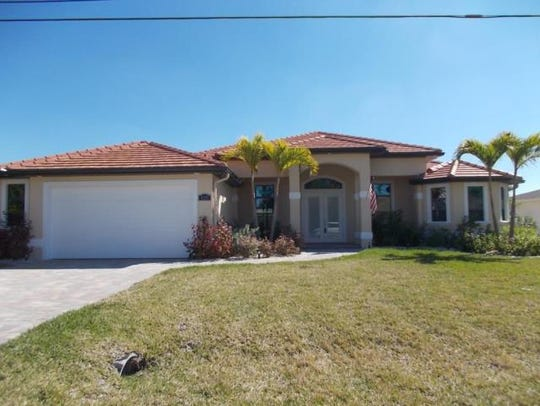 This home at 4213 SW 5th Place, Cape Coral, recently