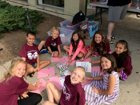 """VKR Kids made motivating """"back to school letters"""" to"""