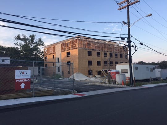 Legion Square Village, which will feature 55 apartments, is being built in downtown Toms River.