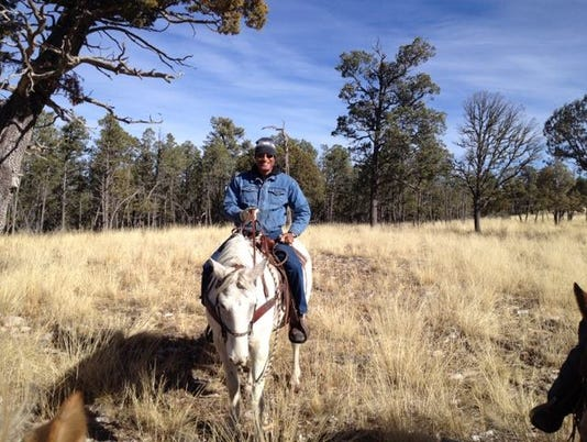 horseback riding in the LNF