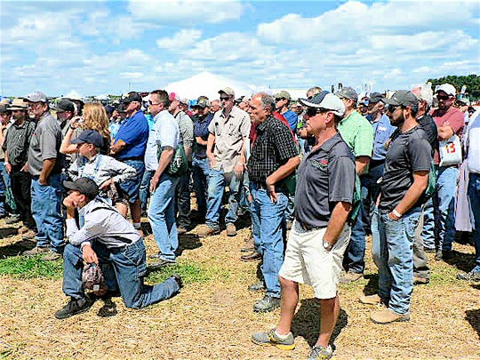 Some of the over 1,000 attendees at the 2017 North American Manure Expo.