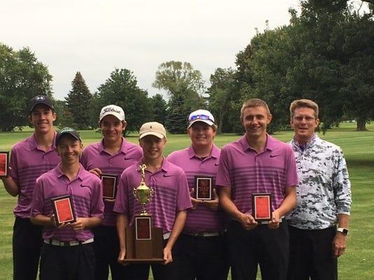 Lexington golfers
