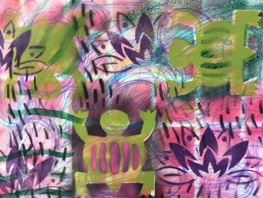 Art work from the First City Art Center.