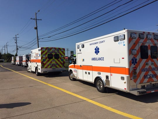 EMS Vehicles traveling to Florida