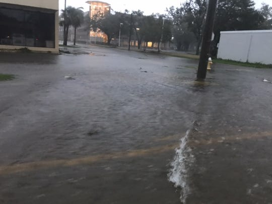 Flooding on streets in and around U.S. 41 from Colonial  to the Caloosahatchee River was  the result of Hurricane Irma's passage through the city.