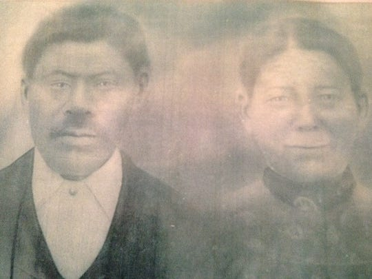 Amos and his wife Isabella
