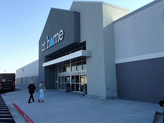 The At Home decor-store chain opened its first El Paso store in 2017 in a redone, former Kmart store building  at 1120 McRae Blvd., and Interstate 10 in East El Paso.