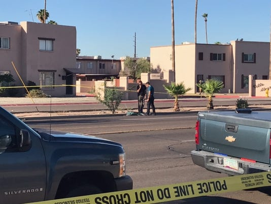 Bicyclist struck dead in Phoenix