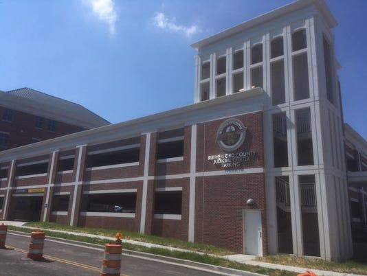 Downtown Murfreesboro parking garage
